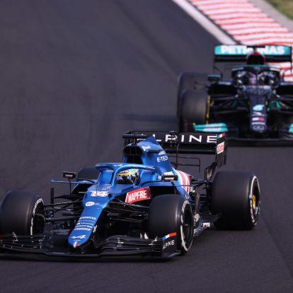 Hamilton: Alonso pokollá tette a versenyem