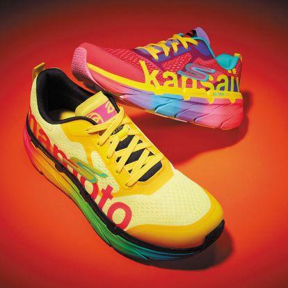 Nagyon színes avantgárd sneakert dobtak piacra