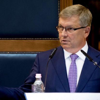 Matolcsy György MNB elnök szerint a kormányzati és a gazdasági teljesítmény közepes volt
