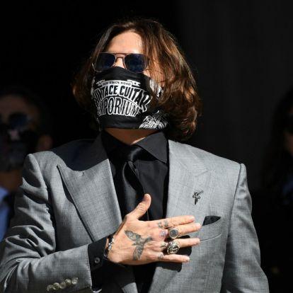 Johnny Depp szerint Hollywood bojkottálja őt, és ebben igaza is lehet