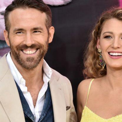 Ryan Reynolds szülinapi köszöntés helyett megtrollkodta Blake Livelyt