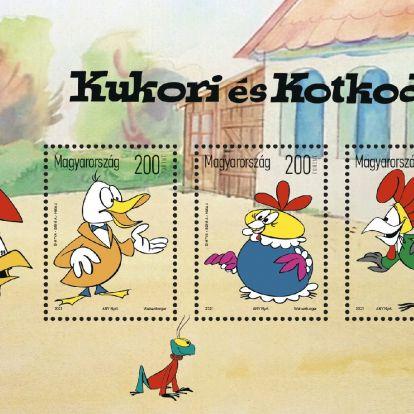 Mesehősök bélyegen: Lusta férj miatt lett ennyire népszerű a Kukori és Kotkoda