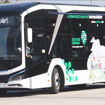 A végéhez közeledik a Zöld Busz Program tesztje
