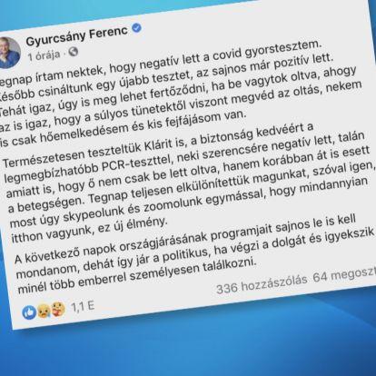 Gyurcsány Ferenc koronavírusos