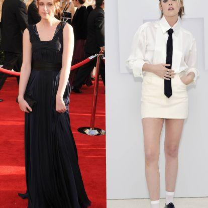 Így vált Kristen Stewart a félszeg Bellából a tökéletes Diana hercegné