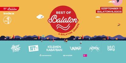 Fesztivált idéző programmal jön a Balaton Ünnepe - Akár online is nézheted
