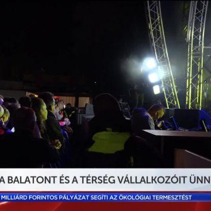 A Balatont és a térség vállalkozóit ünnepelték