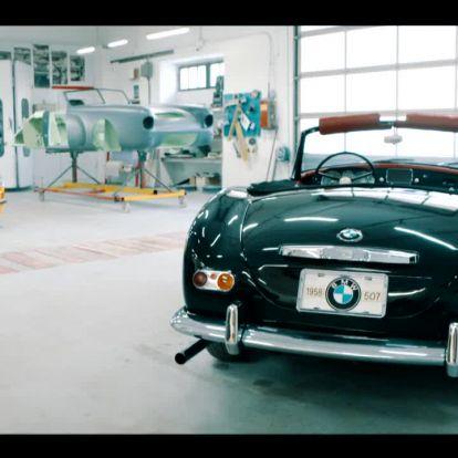 StartStop: Egy BMW 507-es ritkaságra bukkantunk itthon