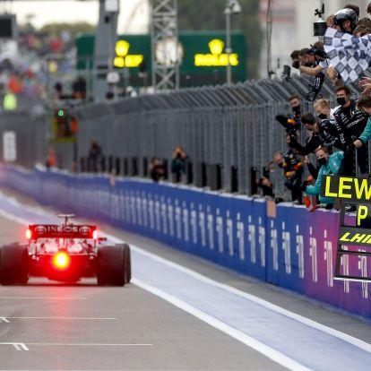 Hamilton 10 legemlékezetesebb győzelme az F1-ben