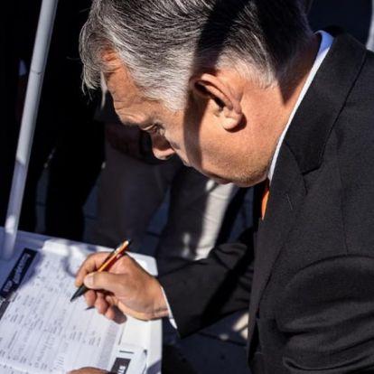 Orbán Viktor: Már 700 ezren aláírták a Stop Gyurcsány! Stop Karácsony! petíciót