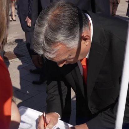 Orbán Viktor: nem hagyjuk, hogy visszatérjen a Gyurcsány-korszak! – Már 700 ezer aláírás gyűlt össze