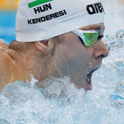 Új edzőt kapott az olimpiai bronzérmes magyar úszó