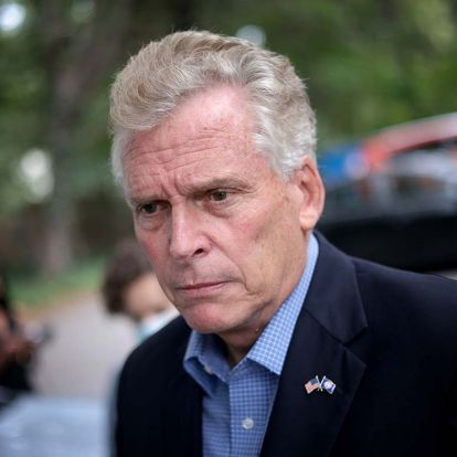 Poll: McAuliffe holds narrow lead over Youngkin in close Virginia race