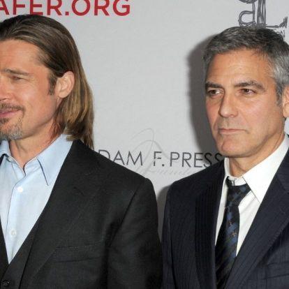 Ismét együtt játszik Brad Pitt és George Clooney