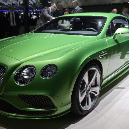 Az autó, amelynek drágább a féktárcsája, mint egy használt Bentley