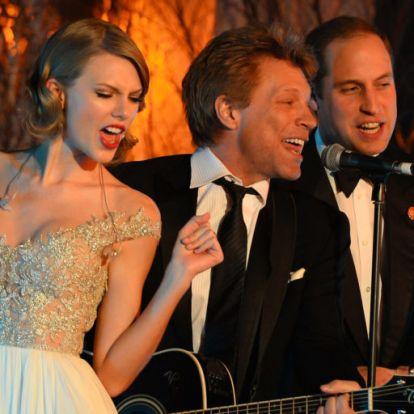 Na ne! Láttad már Vilmos herceget Taylor Swifttel énekelni?