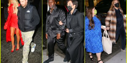 Kim Kardashian's Family & Celeb Friends Celebrate at 'SNL' After Party - See Who Attended!