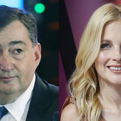 Fotóval: Új feleségével együtt vett át díjat Mészáros Lőrinc