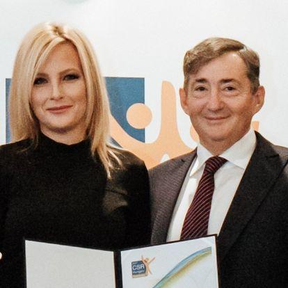 Társadalmi felelősségvállalási díjat kapott Mészáros Lőrinc cége
