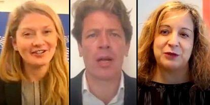 Friss videó érkezett Brüsszelből: Elképesztő névsor buzdít Dobrev Klára melletti szavazásra