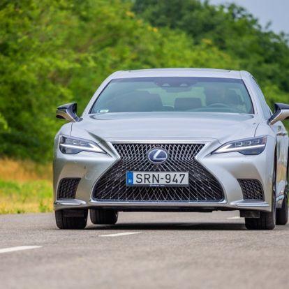Briliáns! – Lexus LS 500h AWD teszt