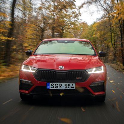 Ennyit tud a legerősebb, leggyorsabb Škoda?