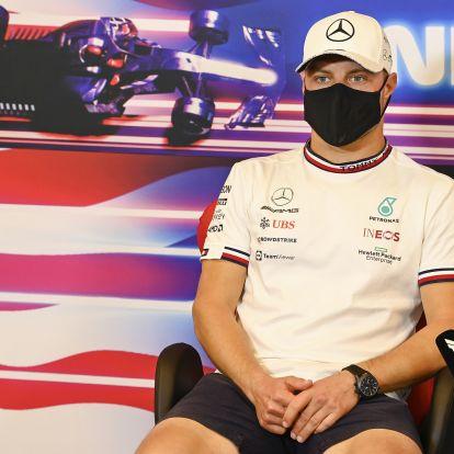 F1: Már megint rajtbüntetést kap Bottas