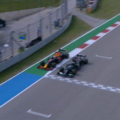 F1: Balhé a második edzésen, Verstappen bemutatott Hamiltonnak
