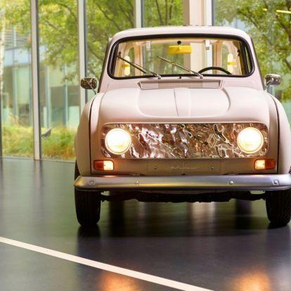 Butikhotel lett a Renault 4-esből