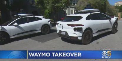 A Waymo önvezető autói valamiért minden nap megszállnak egy san franciscói zsákutcát