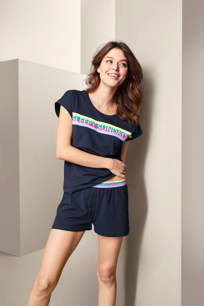 női rövidnadrágos pizsama