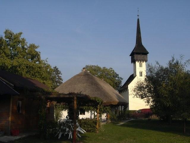 Csaroda református temploma